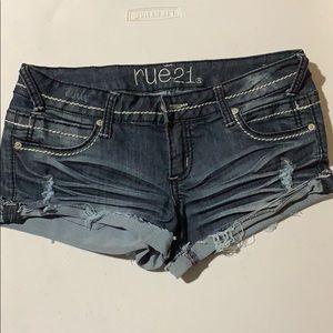 Rue 21 Jean shorts